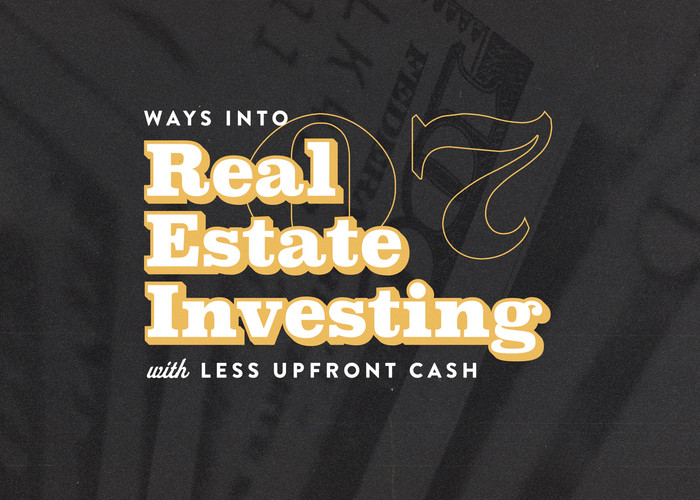 low cash real estate investing