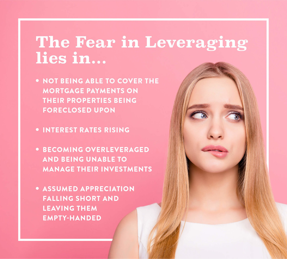 top 4 fears in leveraging real estate