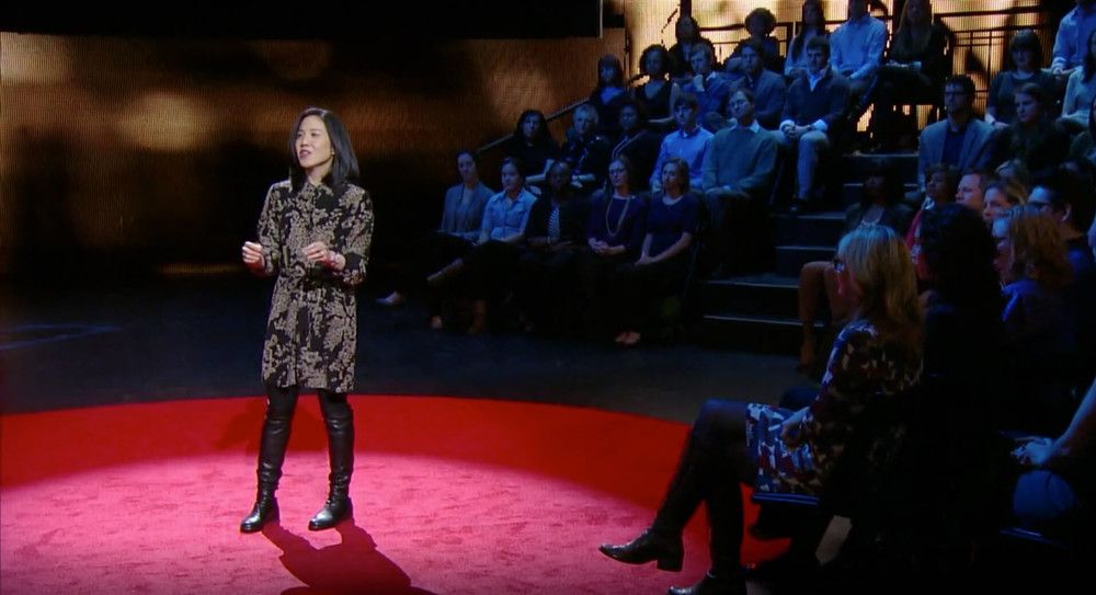 Angela Duckworth discussing grit