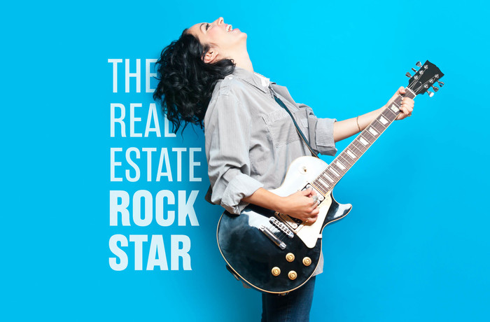 The real estate rockstar idea is to leverage real estate investments