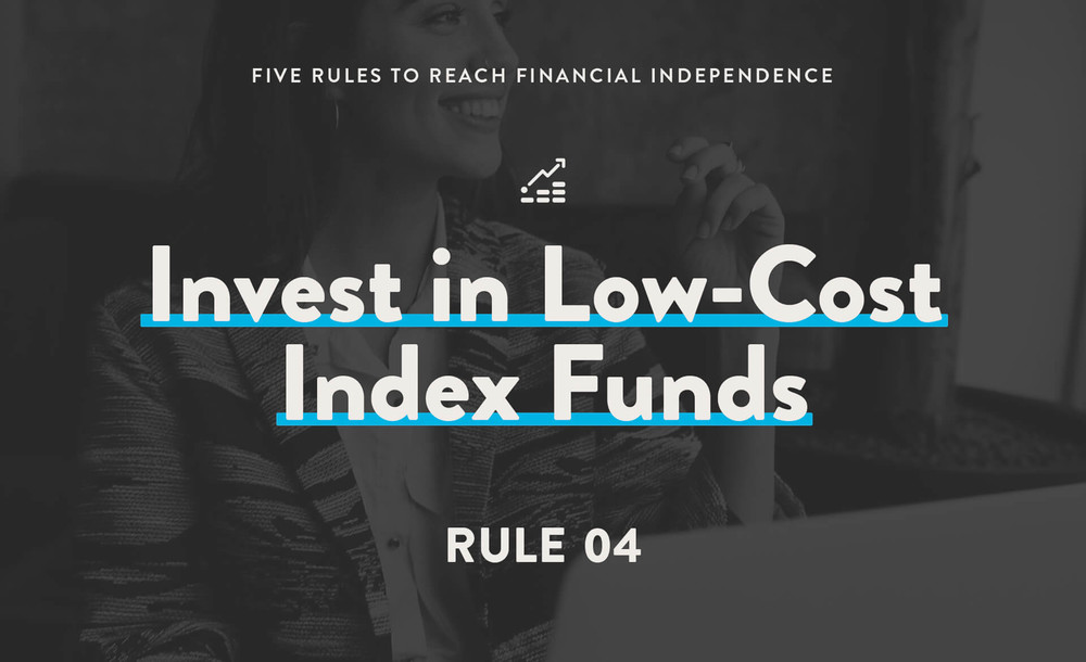 invest in low-cost index funds