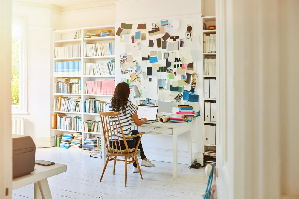 Tax deductible home office for entrepreneur