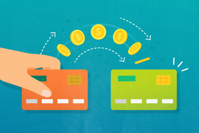 Credit card balance transfer graphic