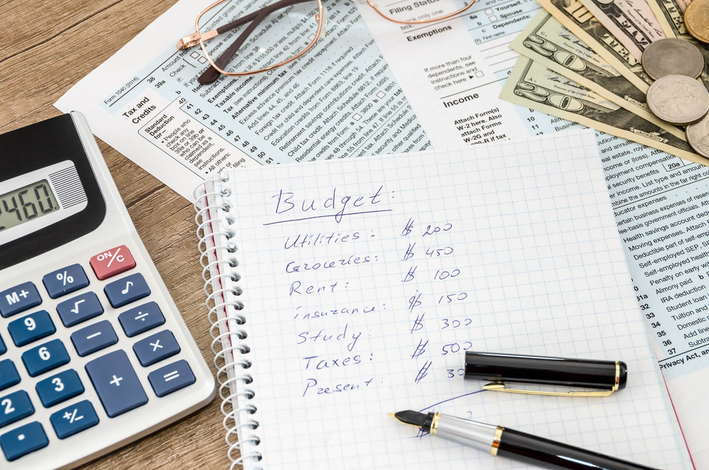 financial situation requires a budget