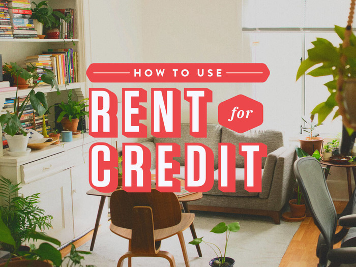 build credit using rent