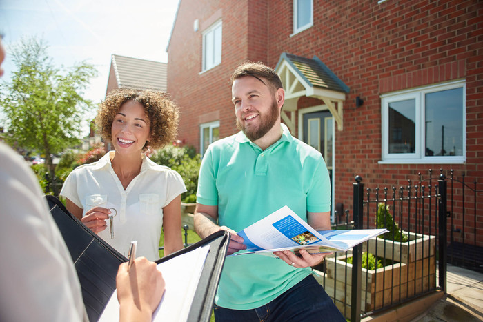 Couple is learning how to buy their first investment property