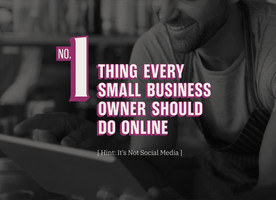 1 thing every small business owner should do online