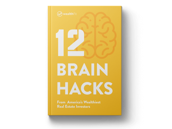 Book cover with the title 12 Brain Hacks