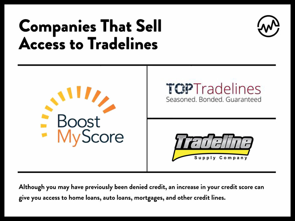 companies that sell authorized tradelines