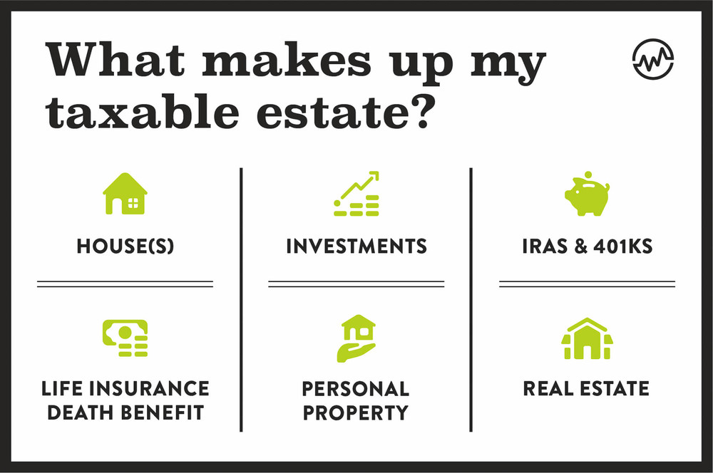 What makes up my taxable estate?