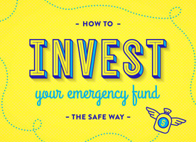How to invest your emergency fund the safe way graphic