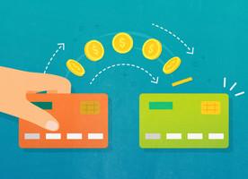 Credit card balance transfer graphic