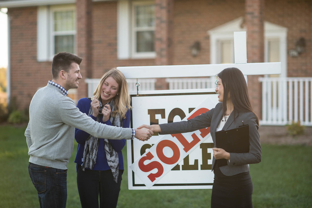 Couple bought a home via FHA loan