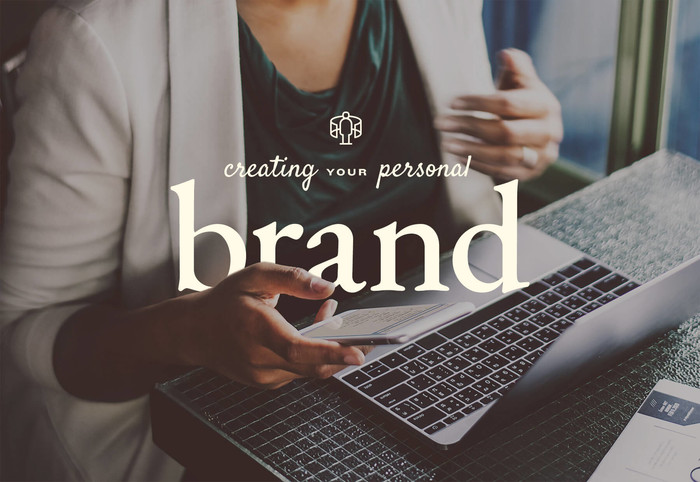Female entrepreneur building personal brand